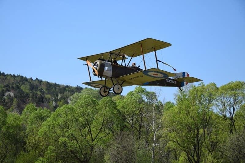 Los aviones de la Primera Guerra Mundial