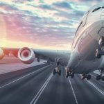 como despegan los aviones desde el suelo